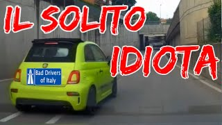 BAD DRIVERS OF ITALY dashcam compilation 06.23