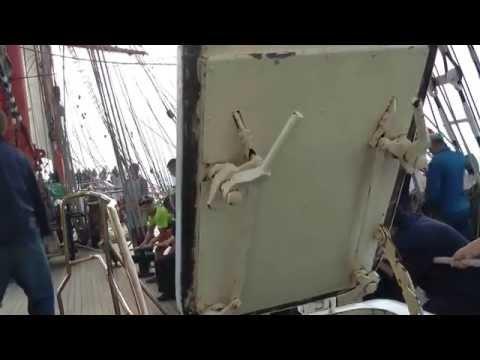 Bremerhaven nach Den Helder mit der Sedov