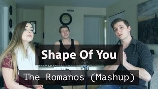 Shape Of You - Ed Sheeran (Mashup)  Starboy | No Scrub | Hasta El Amanecer | Mercy | Cheap Thrills