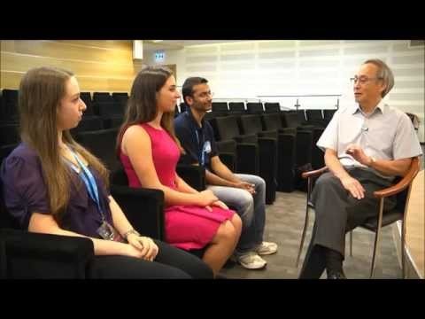 Noa Glaser interviews Professor Steven Chu
