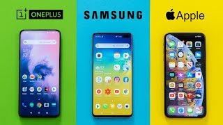 Download OnePlus 7 Pro vs Galaxy S10+ vs iPhone XS Max Mp3 and Videos