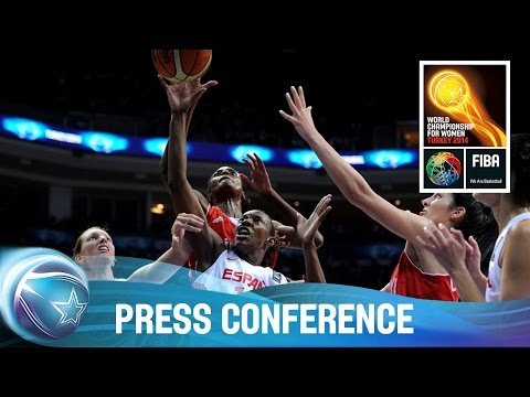 Spain v Turkey - Post game Press Conference - 2014 FIBA World Championship for Women