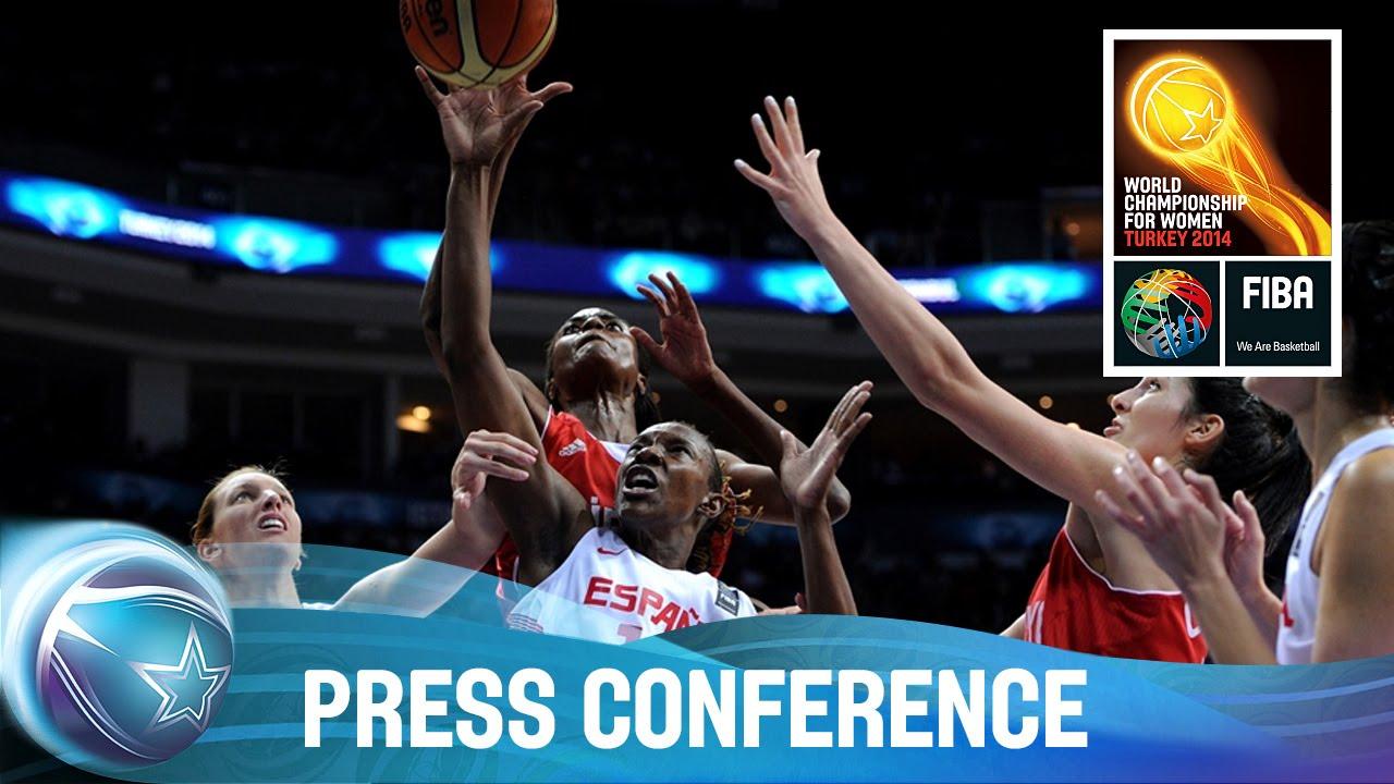 Spain v Turkey - Post game Press Conference