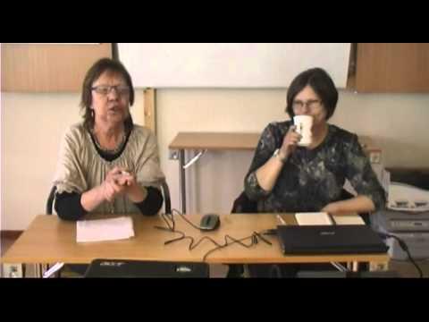 Siv Helen Rydheim og Ilse Karin Presteng fra Finnmarksnettverket