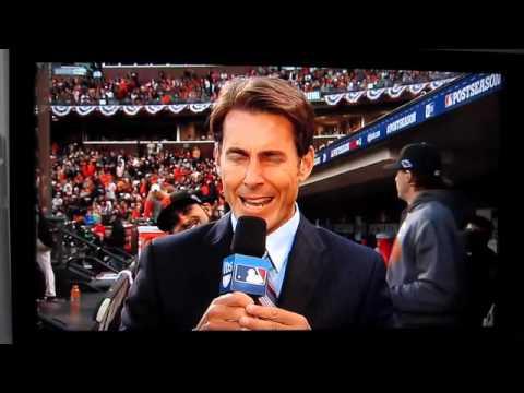 Sergio Romo's Photobomb on TBS