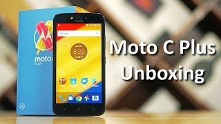 Moto C Plus - New Budget Phone from Motorola / Lenovo - Unboxing & Hands On