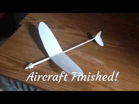 """Quick Builds - DIY 12"""" Glider From A Take-Out Container!"""