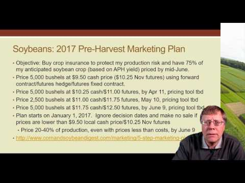 Crop Budgets and Marketing Plans in Low-margin Years