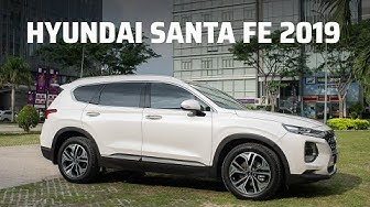 Trên tay Hyundai Santafe 2019 Premium 2.2D
