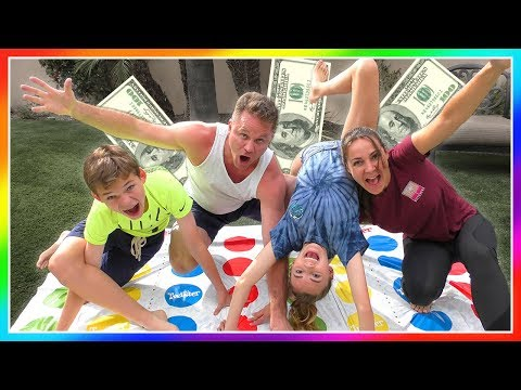 LAST ONE STANDING WINS CASH! | Giant Board Game | We Are The Davises