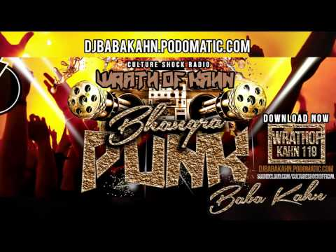 Bhangra and BollywoodDJ Mix BABA KAHN Brand New 2015