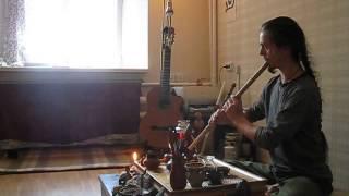 Илья — утренние упражнения на флейте сяо