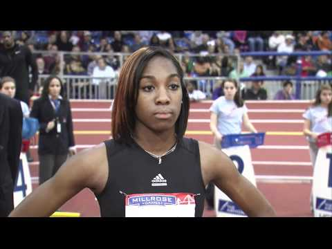 HS Girls' 55-Meter Dash
