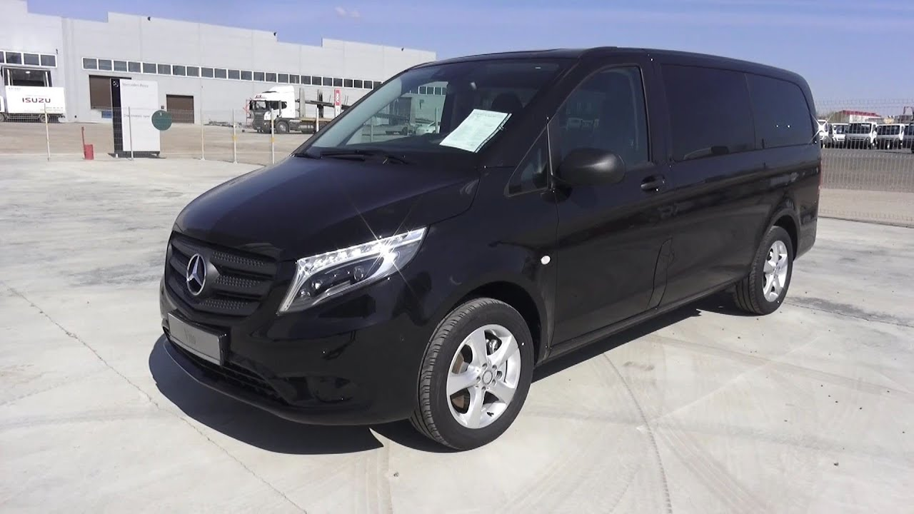 2016 mercedes benz vito tourer select 116 cdi bluetec 4 4 for Mercedes benz vito tourer