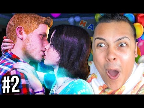 KISSING BOYS AT A BIRTHDAY PARTY !!! (Beyond Two Souls PS4) #2