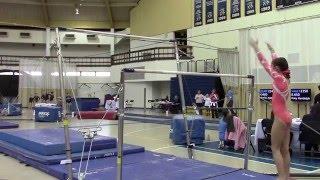 level 3 gymnastics bar 6 bcg valentine invitational session 2