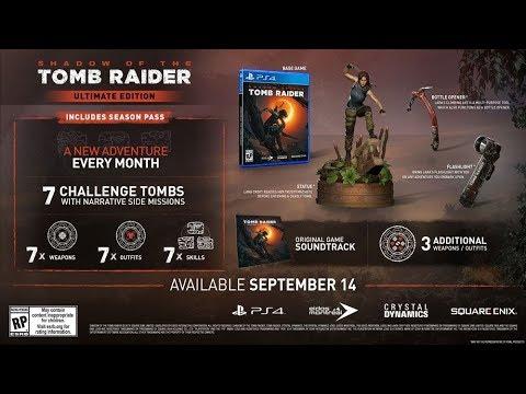 shadow of the tomb raider croft edition