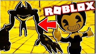 PLAY AS BEAST BENDY! Dark Corridors Bendy RP! Bendy and The Ink Machine Roblox