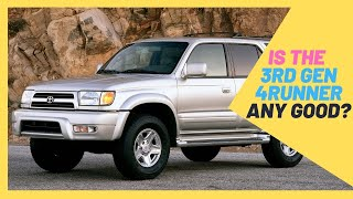 1996-2002 Toyota 4Runner 3rd Geb Buyer's Guide (Engines, Options, common problems)