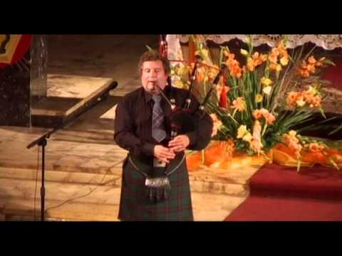 Jastrzębia Góra Letni Festiwal Muzyczny Lindsay Davidson - dudy szkockie
