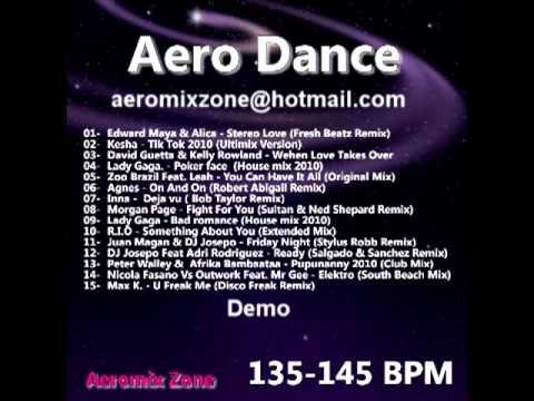 Musica aerobica y fitness demo aerodancempg