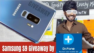Giveaway Samsung S9 by Dr. Fone!