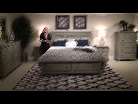 Reflections Bedroom Collection By Vaughan Bassett Furniture In Gray, Cherry, Or Ebony