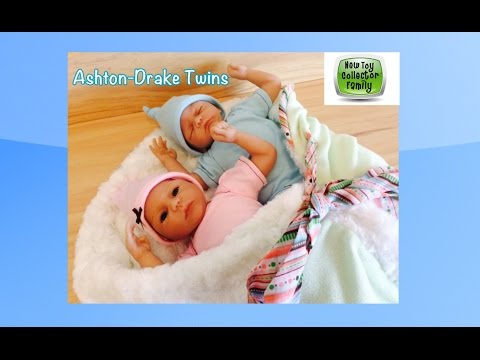 """Mason & Madison"" Twins From The Ashton-Drake Galleries Requested Review"