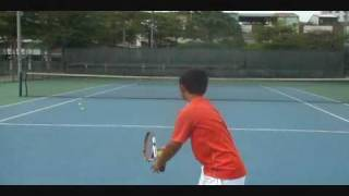 Young and Talented 10 years old Tennis Player(何承叡)