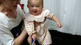 月例7ヶ月頃〜2歳頃の赤ちゃんならたいていが喜ぶ簡単な日本のわらべ歌...
