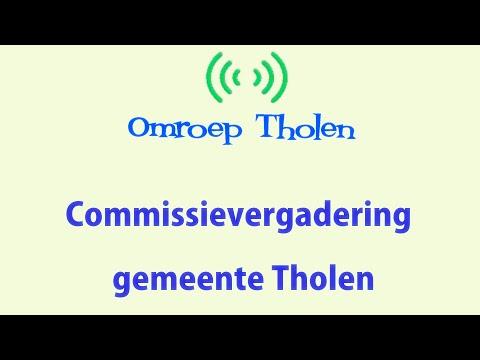 Vergadering Commissie Ruimte - Omroep Tholen - 6 april 2021