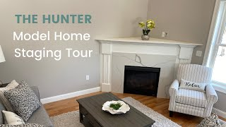 Home Staging Model Home Reveal and Behind The Scenes New Construction Windham New Hampshire