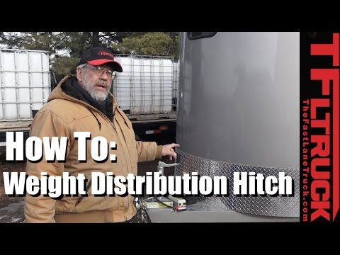 What's a Weight Distribution Hitch, How Does It Work & How To Install It