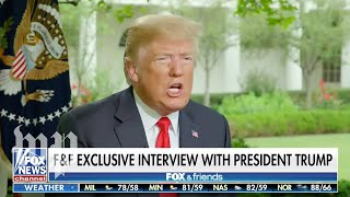 'I'd give myself an A+': 5 takeaways from Trump's Fox News sitdown