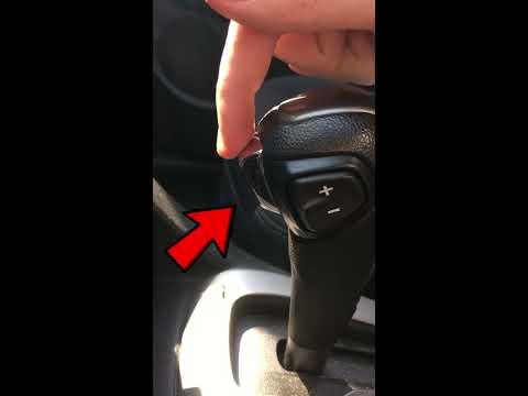 Шевроле авео т300. Ремонт кнопки на ручке акпп / T300. Fix Transmission Button