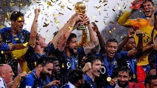 Франция Хорватия 4 2 финал ЧМ по футболу 2018 World Cup 2018