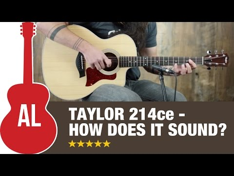 Taylor 214ce - How Does it Sound?