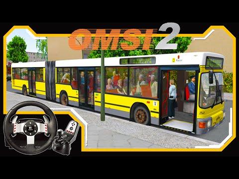 OMSI 2 - Agora Sou Motorista de Ônibus - Jogando com Logitech G27