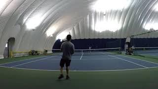 12/2/17 Tennis - Warm up + A few points