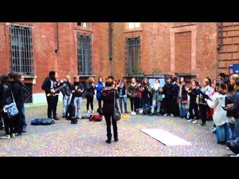 Torino, note d'assalto: gli studenti del Passoni in Provincia