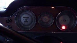 BMW 3200 CS, 3.2 V8 Testlauf