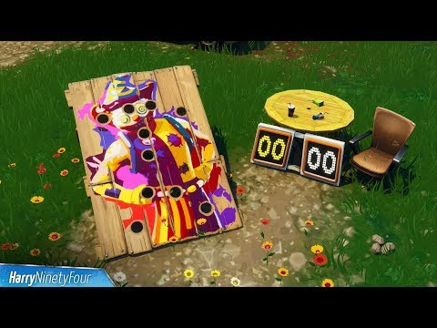 Fortnite Battle Royale - All Carnival Clown Boards Locations Guide (Season 6 Challenge)