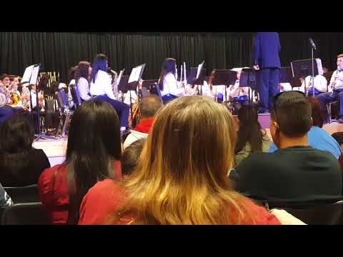 """Dragon Slayer"" by Rob Grice as performed by the Chipman Junior High School Advanced Band"