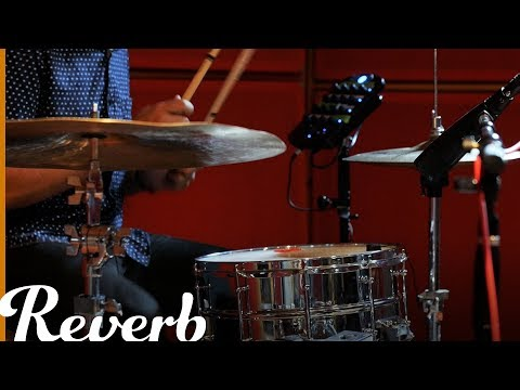 Crushed Drums with Contact Mics, Tape, and Compression | Reverb Experimental Recording Techniques