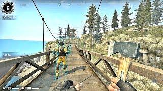 CS:GO · Danger Zone Gameplay on Blacksite map (CSGO Battle Royale)