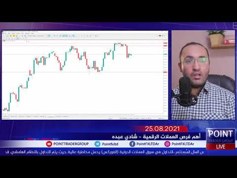 نظرة على العملات المشفرة بشركة بوينت ليوم 25 أغسطس 2021 | Point Trader Group