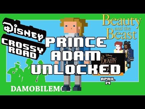 ★ DISNEY CROSSY ROAD Secret Characters | PRINCE ADAM Unlock (Beauty and the Beast Update)