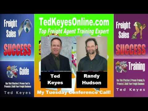 [TKO] ♦ Freight Sales Expert Guest - Randy Hudson ♦ TedKeyesOnline.com