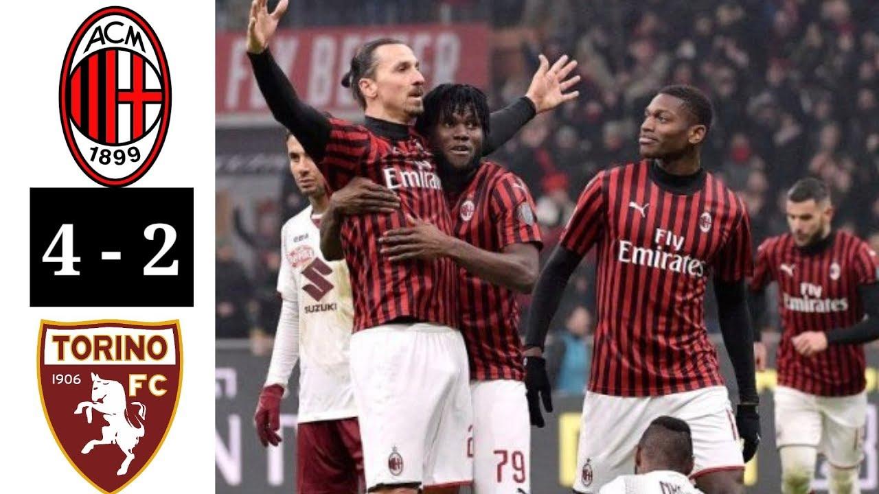 Ac Milan Vs Torino   Hasil Coppa Italia Semi Final Coppa