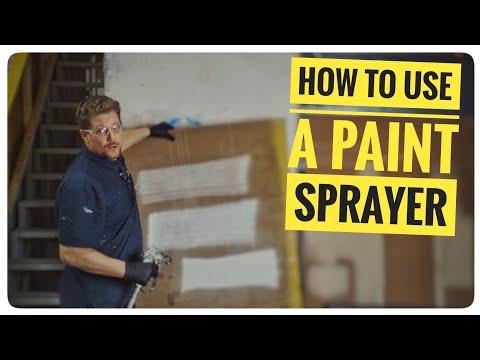 How To Use A Paint Sprayer   Airless Paint Sprayers   Titan 440